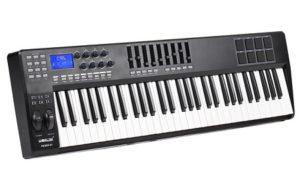 controlador teclado midi