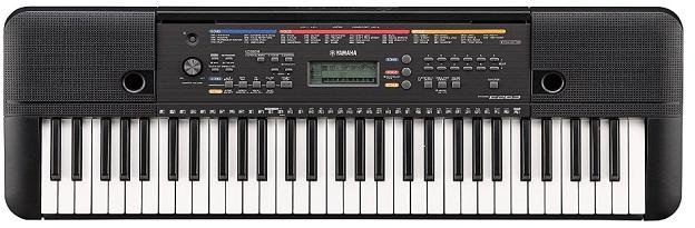 piano digital yamaha PSR E263