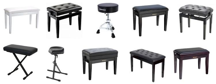 Bancos para piano pianosdigitales.online